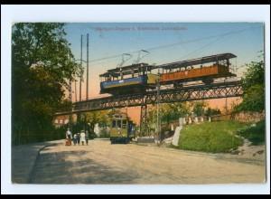 XX005150/ Stuttgart Degerloch Straßenbah Zahnradbahn Ak 1917