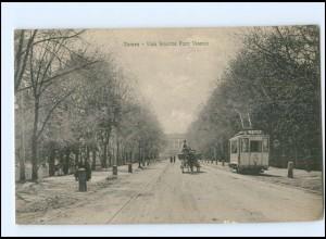 XX005137/ Verona Viale Stazione Porto Vescova Straßenbahn Tram ca.1912