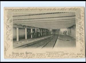 XX005121/ Berlin U-Bahnhof Potsdamerplatz - Wittenbergplatz AK 1902