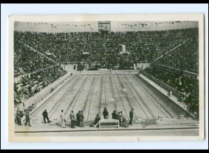 XX005114/ Olympiade Berlin 1936 Schwimmstadion 300 Meter Freistil Foto AK