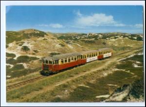 Y12231/ Sylt Dünen-Express Eisenbahn AK ca.1970