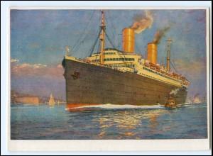 Y12246/ Dampfer Columbus Nordd. Lloyd AK ca.1935