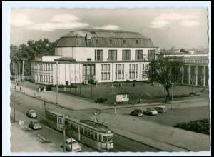 Y12517/ Essen Saalbau Straßenbahn 1958 AK