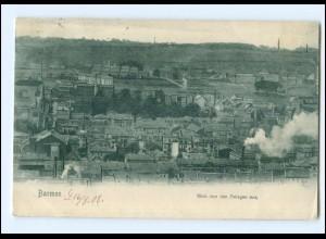 Y12510/ Barmen Blick von den Anlagen aus 1908 AK