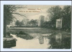 Y12588/ Wittenburg Partie an der alten Stadtmauer 1910 AK