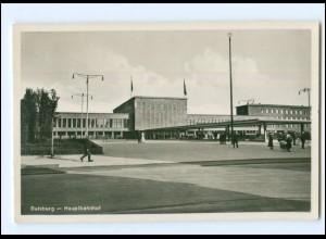 Y12514/ Duisburg Hauptbahnhof Foto AK