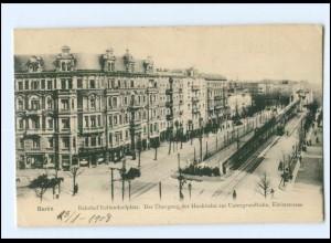 Y12605/ Berlin Bahnhof Nollendorfplatz 1908 AK