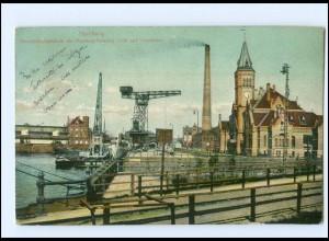 Y12500/ Hamburg Hafen 1906 AK