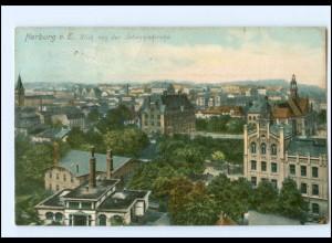 Y12499/ Hamburg Harburg Blick von der Johanniskirche 1911 AK