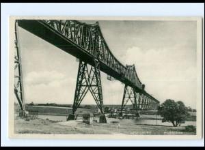 Y12530/ Rendsburg Hochbrücke 1936 AK