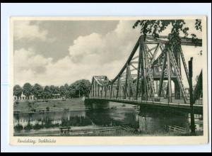 Y12532/ Rendsburg Drehbrücke AK