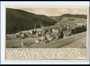 Y12574/ Tennenbronn im Schwarzwald 1938 Foto AK
