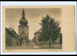 Y12520/ Saalfeld Blankenburger Tor 1924 AK
