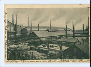 Y12509/ Dortmund Eisen und Stahlwerk 1927 AK