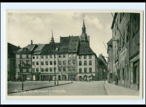 Y12390/ Freiberg in Sa. Obermarkt AK ca.1935