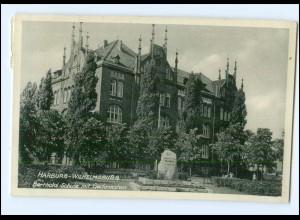 Y12377/ Hamburg Harburg-Wilhelmsburg Berthold Schule AK 1935