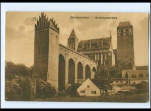 Y12610/ Marienwedrer Schloßpanorama Westpreußen 1917 AK