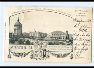 S2092/ Mannheim Genrelavers. der Katholiken 1902 Katholikentag 1902 + SST