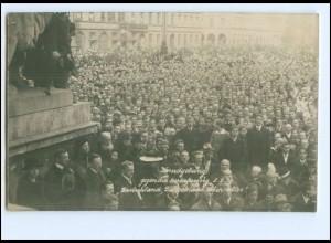 S2132/ München Kundgebung gegen Auslieferung 8.2.1920 Foto AK