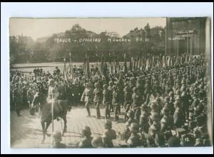 S2126/ München Trauer- und Opfertag 1921 Foto AK