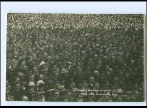 S2129/ Johannes Hoffman Bayr. Ministerpräsident Foto Hoffmann AK 1920