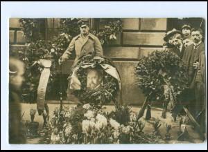 U9101/ München Gedenkstätte am Ort des Attentats von Kurt Eisner 1919 Foto AK