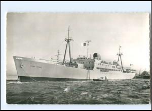 Y12757/ Frachtschiff Handelsschiff Fort Royal French Line AK ca.1960