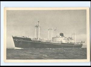 Y13414/ Handelsschiff Compagnie des Messageries Maritimes AK ca.1955 Frachter