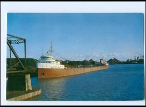 Y12760/ Frachtschiff Handelsschiff Sir James Dunn at Lock No.7, Kanada AK