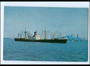 Y13100/ Luckenbach Steamship Comp. Frachter Handelsschiff AK ca.1960