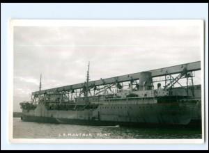Y13419/ Handelsschiff Montauk Point - USA Foto AK ca.1960