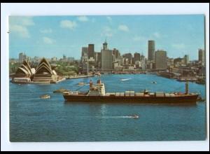 Y13098/ Sidney - Frachter Handelsschiff Austral Envoy, Farrell Lines AK