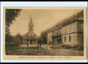 Y12719/ Wildenstein Vosges d`Alsac Les Ecoles Elsaß Frankreich AK 1935