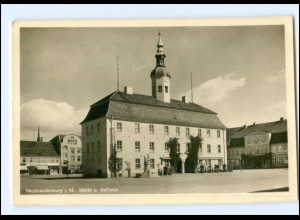 U6906-170./ Neubrandenburg Rathaus Foto AK ca.1938