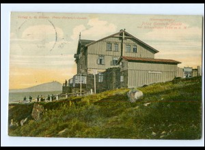 U6825/ Riesengebirge Prinz Heinrich Baude Schlesien AK 1908