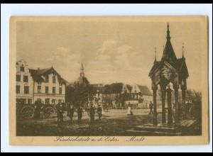 Y12812/ Friedrichstadt Markt AK