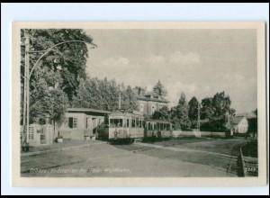 U6835-998/ Tabarz Endstation der Thür. Waldbahn Straßenbahn AK ca.1955