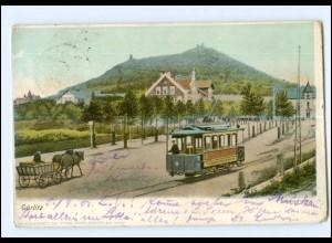 Y12850/ Görlitz Straßenbahn 1903 AK