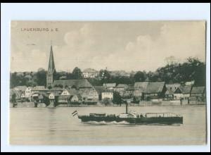 Y12817/ Lauenburg a.d. Elbe 1914 AK