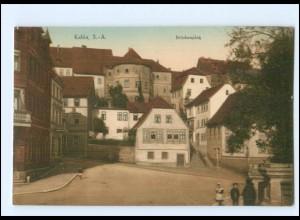 U6927-077./ Kahla Brückenplatz AK ca.1912