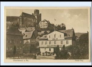 Y12787/ Oberwesel Hotel Fey AK