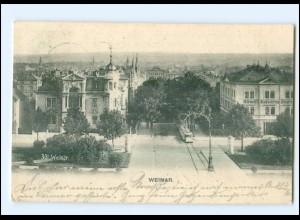 U6822-994/ Weimar Straßenbahn AK 1906