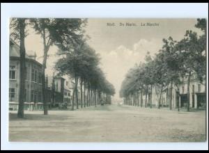 U6943/ Moll Mol De Markt Belgien AK ca.1910