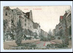 U7012/ Posen St. Martinstraße AK 1917