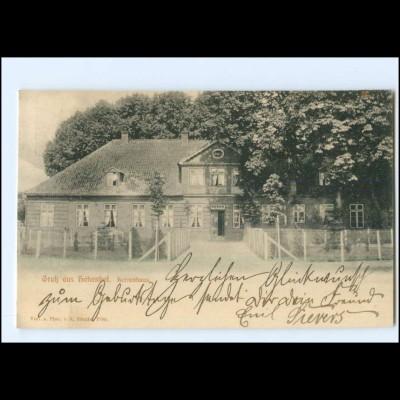 U7095-2320/ Gruß aus Hohenhof bei Plön Herrenhaus AK 1904