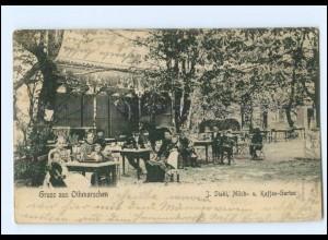 U7040/ Hamburg Othmarschen Stahl Milch- und Kaffee-Garten AK 1906