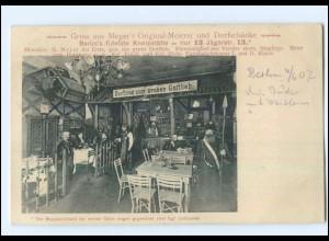 U7037/ Berlin Meyer`s Original-Meierei und Dorfschänke AK 1907