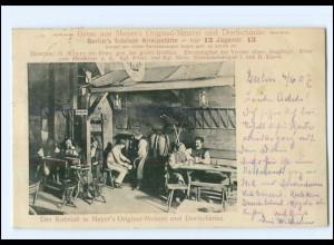 U7038/ Berlin Meyer`s Original-Meierei und Dorfschänke AK 1907