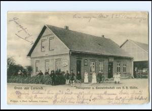 U7039-2082/ Tornesch Postagentur u. Gastwirtschaft AK 1902