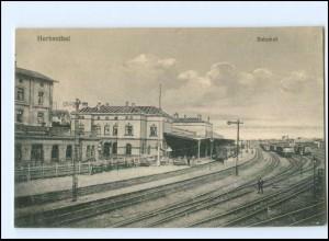 Y13052/ Herbesthal Bahnhof Belgien AK ca.1914